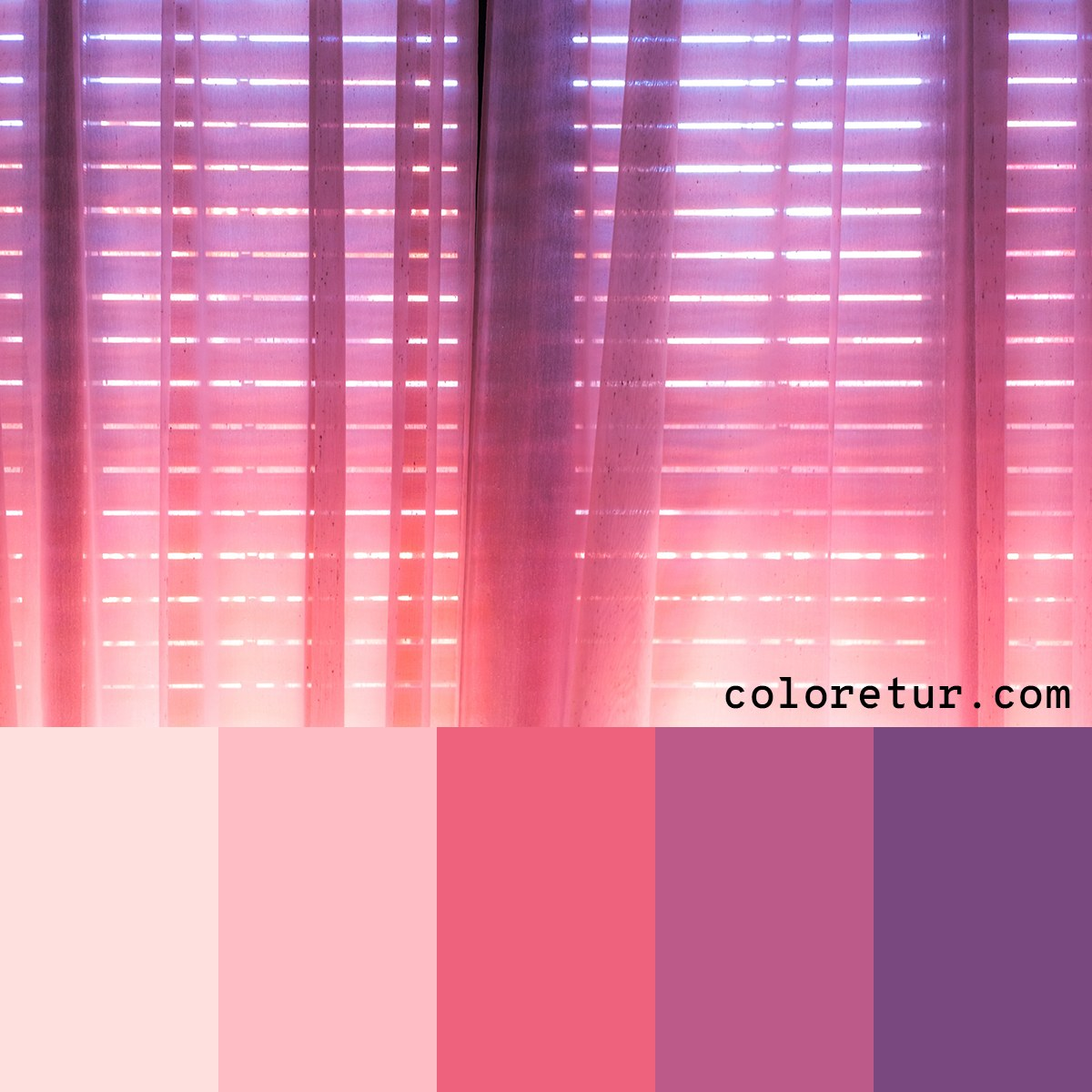 The vibrant colours of dawn bring warmth and brightness to this glowing palette